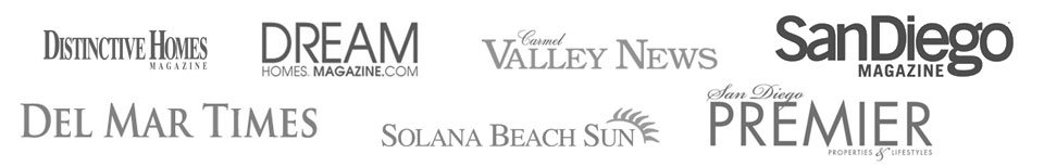 Toni Cieri has been featured in the following for excellent in San Diego real estate.