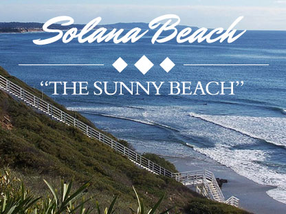 Solana Beach, California.